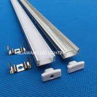 Wholesale 20PC m x mm each Aluminium profile led strip channel for Leds bar lighting Led aluminum for led strip QC1807B