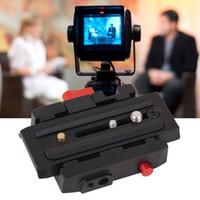 aluminum cam - P200 Cam Quick Release Clamp QR Plate for AH HDV HDV Q5 quick release clamp video tripod accessories