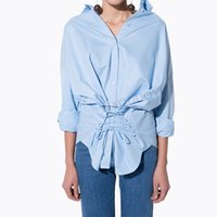 Wholesale Solid Color Boyfriend Shirt - NEW FASHION Fall 2016 new women's clothing Fashion boyfriend wind single-breasted female personality with loose shirt