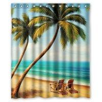 beach chair designs - Special Design Beach Chairs Waterproof Bathroom Fabric W x180 H cm Shower Curtain Bathroom decor