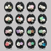 acrylic flowers for nails - Acrylic Flower Nails Designed D Nail Art Rhinestone Cute Glitters Charms Alloy for DIY Decorations Pack of