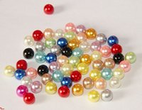 abs plastic stock - 3 mm ABS Acrylic Plastic Pearl Spacer Beads gram per Bag DIY Jewelry Making Beads Large Stocks