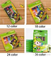 Wholesale 24 color Secret Garden Special Colored Drawing Pencils Wooden Coloring Books Baby Children Painting Pens Graffiti Art Pencil ZJ P01
