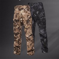 Wholesale Tactical Outdoor Hunting Pants Men Dapple Camouflage Print Trousers Sports Casual Travel Camping Outdoor Hunting Pants