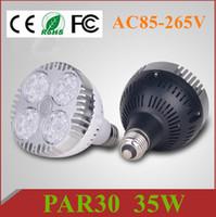 best cooling fans - DHL Best CREE Led PAR30 Lights W E27 Led Bulbs Lights Lumens With Cooling Fan Led Lights AC V