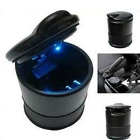 Wholesale Hot selling portable Auto Car Truck LED Cigarette Smoke Ashtray Ash Cylinder Cup Holder