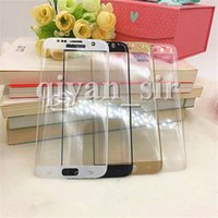 screen printing - Samsung s7 edge tempered glass Screen Protector film D curved s6 edge plus Full Cover note Whole Screen Printing mm h Retail Package