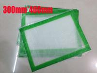 bake mat - 2016 New Non Stick Silicone Pad Silicone Baking Mat Nonstick Silicone Mat Silicone Dab Mat Dab Pad With Glass Fibre