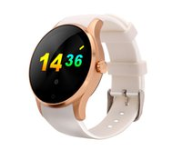 apple connecter - Round Metal Smartwatch smart watch with SIM card Heart Rate Monitor montre connecter for Android IOS Phone