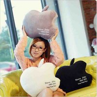 apple shaped pillow - Lovely apple pillow creative iphone shape back cushion valentine s day gift