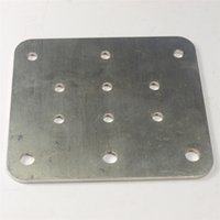 Wholesale Shapeoko X Carve CNC machine parts z axis carriage plate stainless steel Spindle Mounting Plate