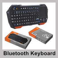 Wholesale Universal Wireless Bluetooth Mini Keyboard with Touchpad for Tablet Mini Android Tablet PC Windows Surface Pro Touchpad Keyboards