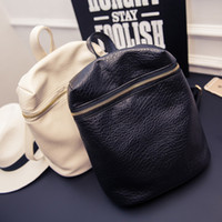 Wholesale casual small solid preppy style tote rucksack fashion ladies party women purse famous designer bags girl student school backpack