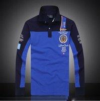 aeronautica militare polo shirt - 7 Models aeronautica militare camisa masculina polo mens Long sleeve Polo shirt brands Air force one shark solid polo shirt