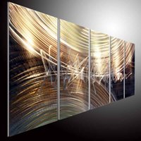 Wholesale home decor metal painting wall oil painting art original modern abstract art