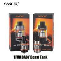 baby control - Authentic Smok TFV8 BABY Beast Tank ml Top Filling Airflow Control Atomizer with Turbo engines For thread Mod