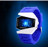 aircraft aviation - 201 factory direct new intelligent fashion LED watch popular cool led watch aircraft aviation aircraft table