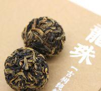Wholesale Classic Dragon Pearl Tea Dried Organic Loose Leaf Balls Black Tea Dragon ball aroma Tea ball Flower