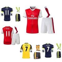 Wholesale 16 Men s Soccer Arsenal home and away Soccer Jersey ALEXIS GIROUD WILSHERE OZIL WALCOTT etcfootball shirt