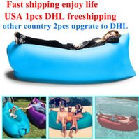 inflatable tent - Lamzac Hangout Fast Inflatable Lounger Air Sleep Camping Sofa KAISR Beach Nylon Fabric Sleeping Bag Bed Lazy Chair ourdoor