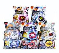 Wholesale 40pcs New Beyblade Hot Toys For Kids Gift Metal Fusion Gyro High Quality Beyblade BB118 BB119 BB120 BB121A BB121B BB121C