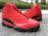 Wholesale Air Retro Black Red With Real Carbon Fiber For Men Basketball Sport Shoes