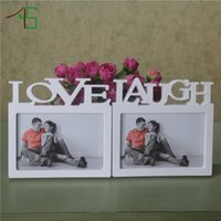 Wholesale New Arrival Live Photo Frame Love And Laugh With One Picture quot For Home Art Decoration And Wedding Gifts