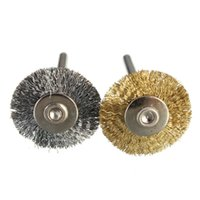 Wholesale 22MM Steel Copper Wire Brush Drill Buit For Dremel Rotary Grinder Tool