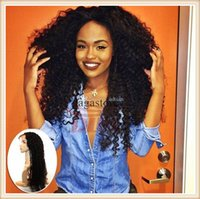 africa bank - Fashion curly wig lace front human hair wigs with baby hair glueless full lace human hair wigs for America Africa