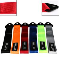 Wholesale xEPR Towing Rope High Strength Nylon Tow Eye Strap Tow Loop Strap Racing Drift Rally Emergency Tool cm Front Rear Bumper Hook