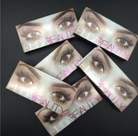 b l c - Huda Beauty False Eyelashes Messy Cross Thick Natural Fake Eye Lashes Professional Makeup Bigeye Eye Lashes Handmade