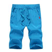 Wholesale NEW Summer Mens Shorts Sport Casual Gym Short Quick Drying Men Shorts Plus Size XXXL Boardshort Sunga Bermuda Masculina