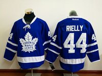 Wholesale 44 Morgan Rielly New Arrivals Men Toronto maple leafs Blue New Ice Hockey Jerseys NHL Stitched Jerseys Free Drop Shipping lymmia