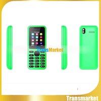130 1.77 Pouces bon marché de téléphone de bonne qualité Téléphone double Sim WIth Unlock Téléphone