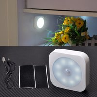 automatically mini lights - New Mini LED super bright infrared wireless sensor automatically detects the movement of light roof garage closet corridor Cabinet light