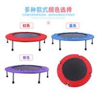 Wholesale Free ship inch load bearing kg Durable Folding Trampolines High strength Spring bounce bed Euro Bungy fitness Equipments