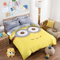 Wholesale Kids Children Girls Cartoon Characters Printed Cotton Bedding Set Duvet Quilt Cover Bed Sheet Pillowcase Bed Linens Bedclothes