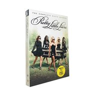 Wholesale Hot selling DVD movies Pretty Little Liars The Complete Sixth Season Six Discs Set US Version Boxset DHL