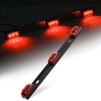 Wholesale NEW Red Clearance ID BAR Marker Light Light LED Trailer Sealed Stainless Steel yy197