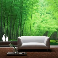 bamboo print wallpaper - Large Mural Living Room TV Backdrop D Custom Personalized Mural Wallpaper Modern Fresh Bamboo Grove Seamless Photo Wallpaper