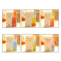 Wholesale 1pc Cute Rainbow Sticker Paste Bookmark Marker Flags Index Tab Sticky Notes E00408