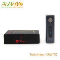 batteries construction - Tesla Nano w TC Mod High Quality Zinc Alloy Construction Steampunk mah Polymer Battery temperature Control Mod VS Tesla nano w
