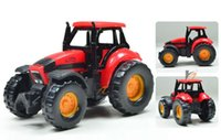 agriculture mini tractor - Agriculture Farm Truck Tractor Vehicle Mini Diecast Toy cm