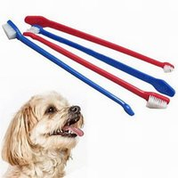 Wholesale 500 Pet Supplies Cat Puppy Dog Dental Grooming Toothbrush Dog Health Supplies Color Random Send
