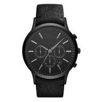 Wholesale Top quality Fashion quartz chronograph watch mens wrist watchesNew AR2461 Black dial Watch