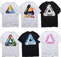 Wholesale Men Brand Palace T shirt Men High Quality Palace Skateboards T Shirts Cotton Summer Tops Short Sleeve Tees Top For Man