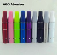 Cheap Mini AGO G5 Tank vape pens Vaporizer Dry Herb Atomizer AGO g5 Clearomizer Fit ecigs eGo EVOD Battery Colorful High Quality DHL FREE
