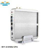 Wholesale Partaker B11 Business Fanless Mini PC with th Gen Skylake Core i3 U and WIFI M
