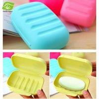 Wholesale 10pcs Creative Travel Soap Box Handmade Portable Candy Color Soapbox cm