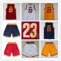 lebron james jersey - Top quality LeBron James Retro basket jerseys mesh s xxl white red yellow navy hot sale